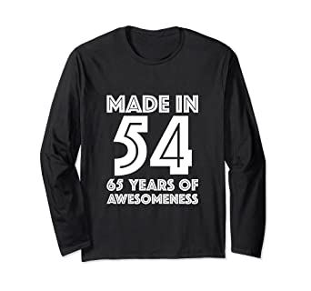 Amazon 65th Birthday Long Sleeve Shirt Grandpa 65 Year Old Dad