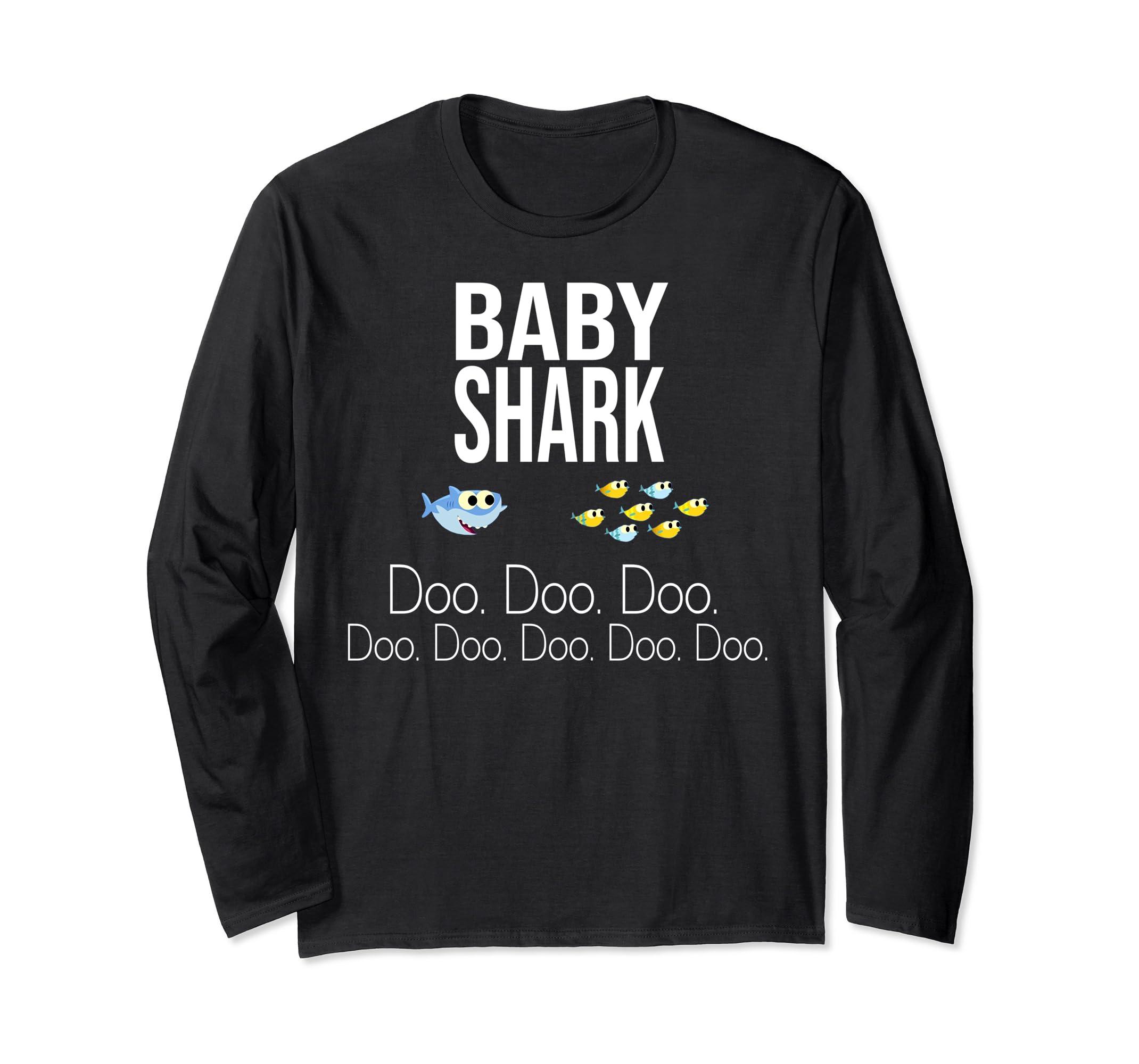 Baby Shark Baby Mommy Daddy Matching Family Shark T Shirt-Awarplus