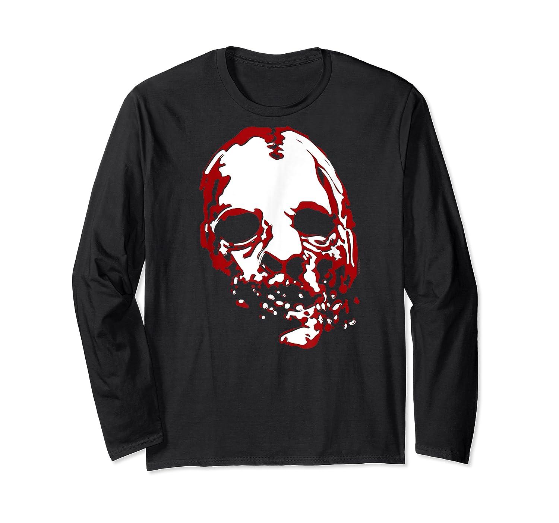 American Horror Story Asylum Bloody Face Shirts Long Sleeve T-shirt