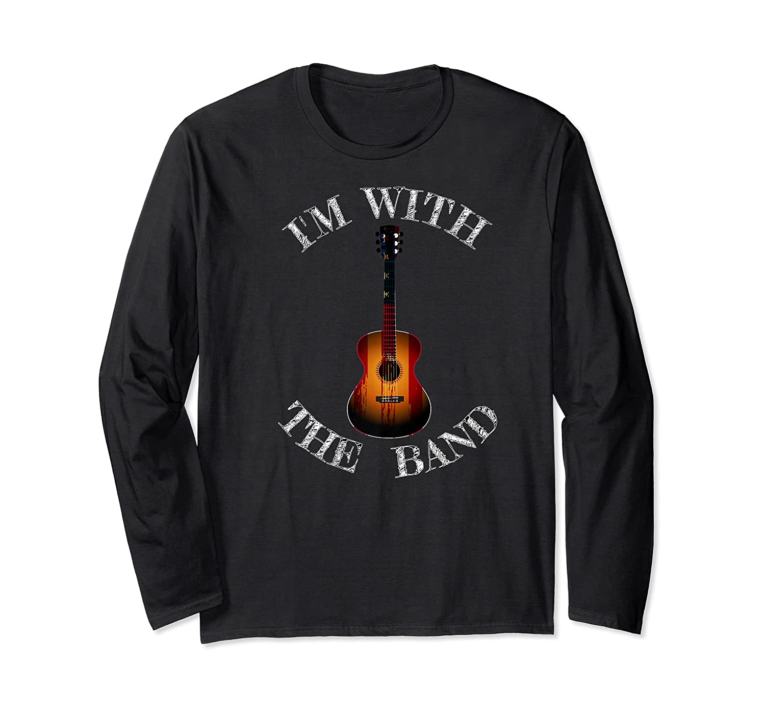 M With The Band Shirts Long Sleeve T-shirt