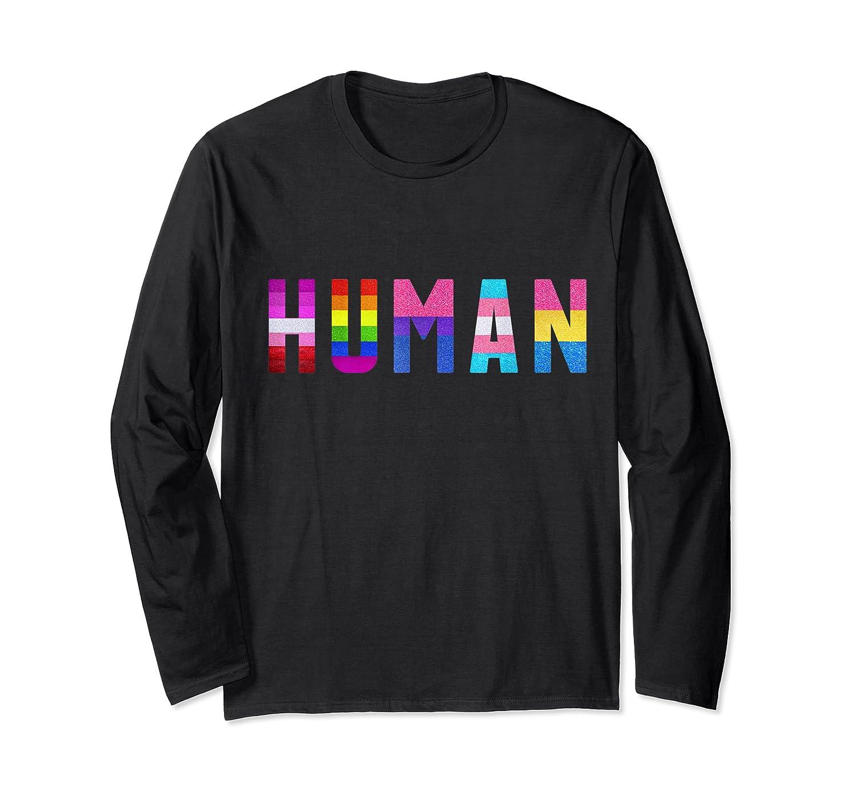 Human 50th Anniversary Proud Freedom 50th Nyc Shirt Long Sleeve T-shirt
