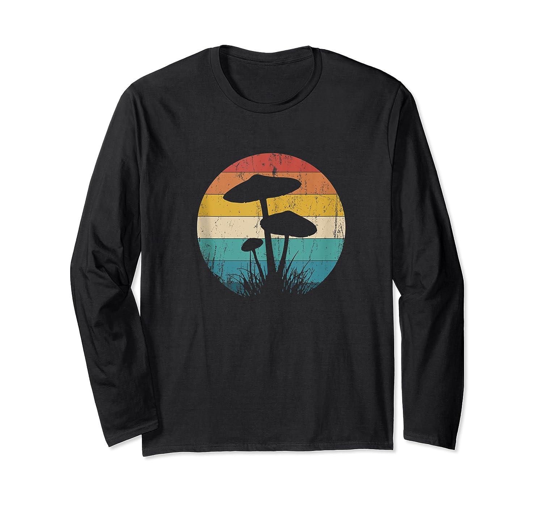 Retro Vintage Mushroom Love Forager Magic Mycology Tank Top Shirts Long Sleeve T-shirt