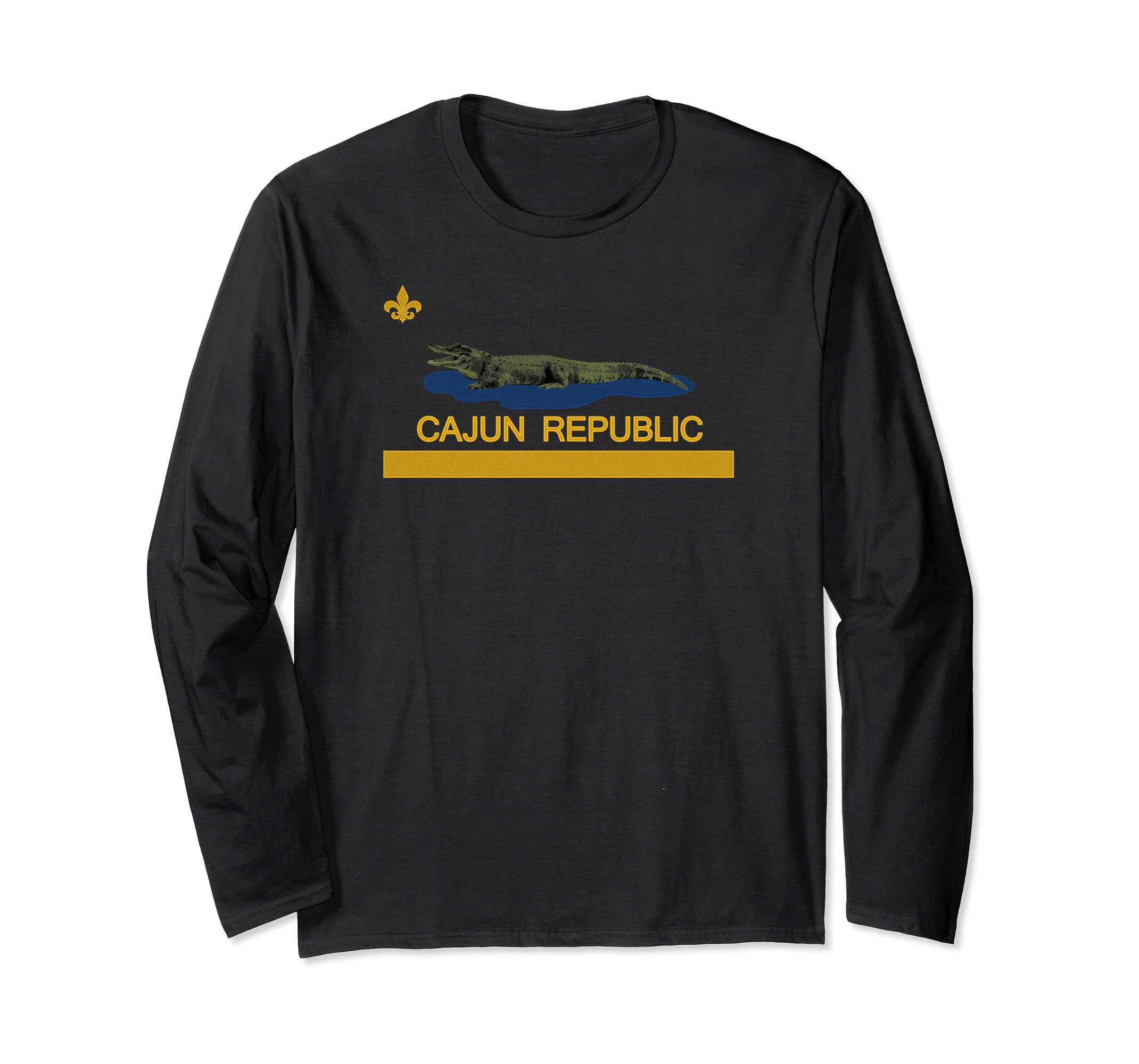 Cajun Republic Long Sleeve T-shirt-SFL