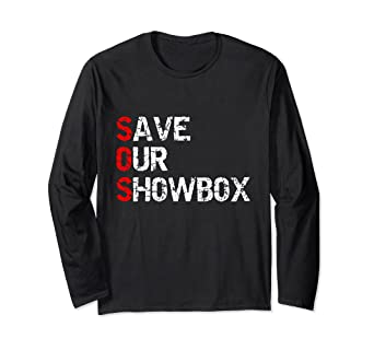 426a6418385 Image Unavailable. Image not available for. Color  Save Our Showbox Seattle  T-Shirt