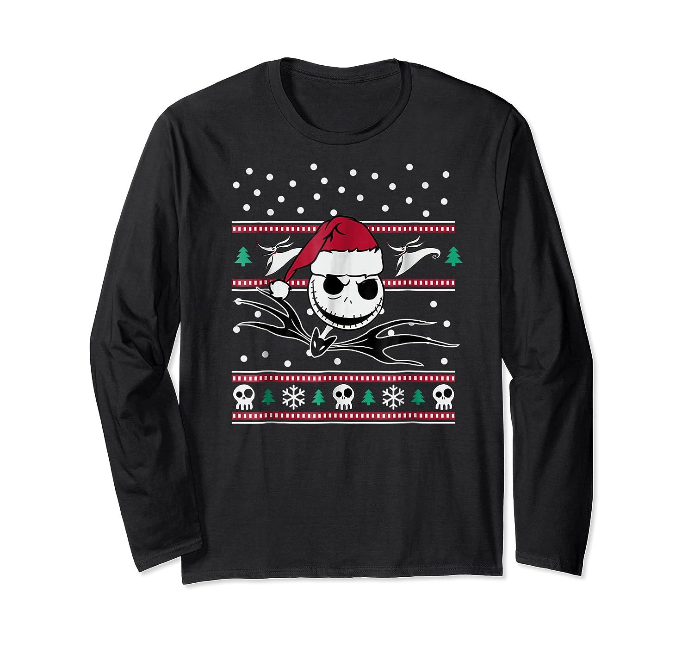 Nightmare Before Christmas Holiday Shirts Long Sleeve T-shirt