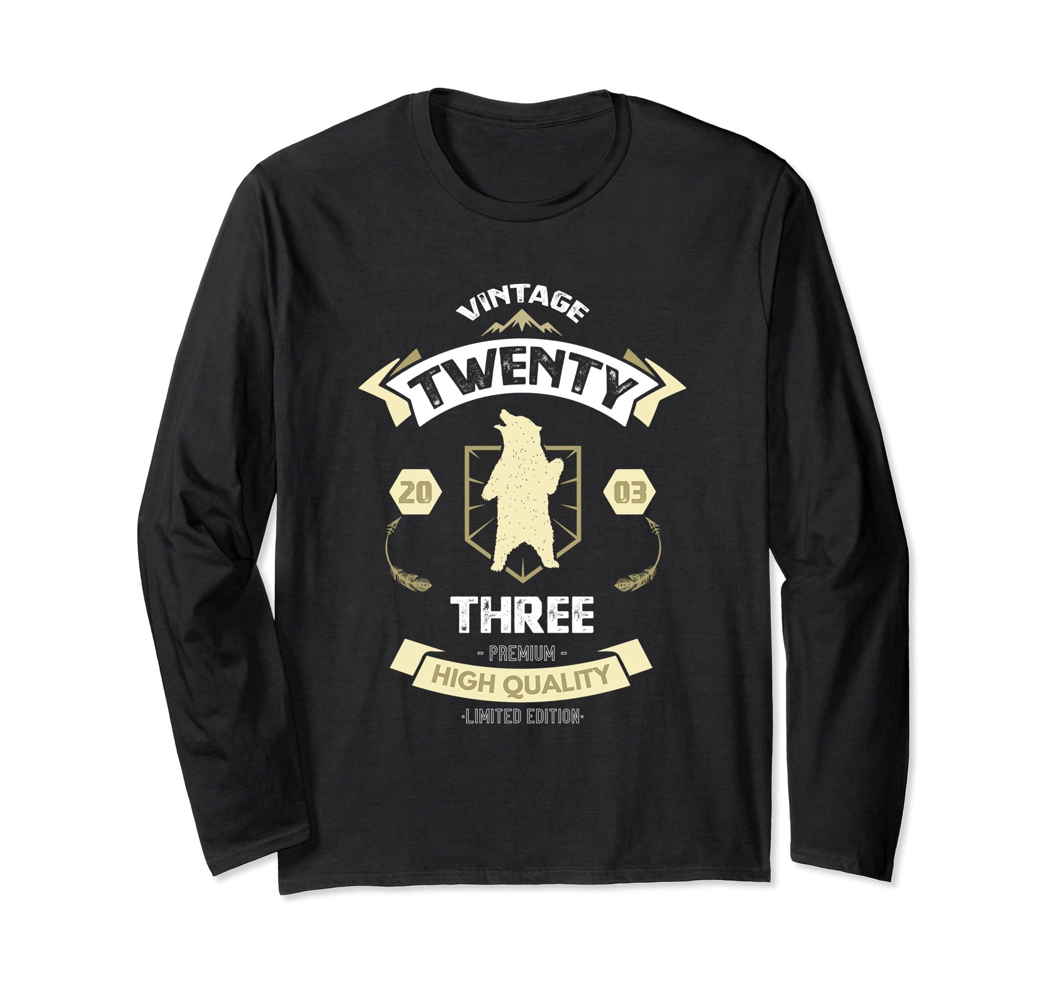 2003 15 Years Old 15th Birthday Cool Bear Gift Shirt-Bawle
