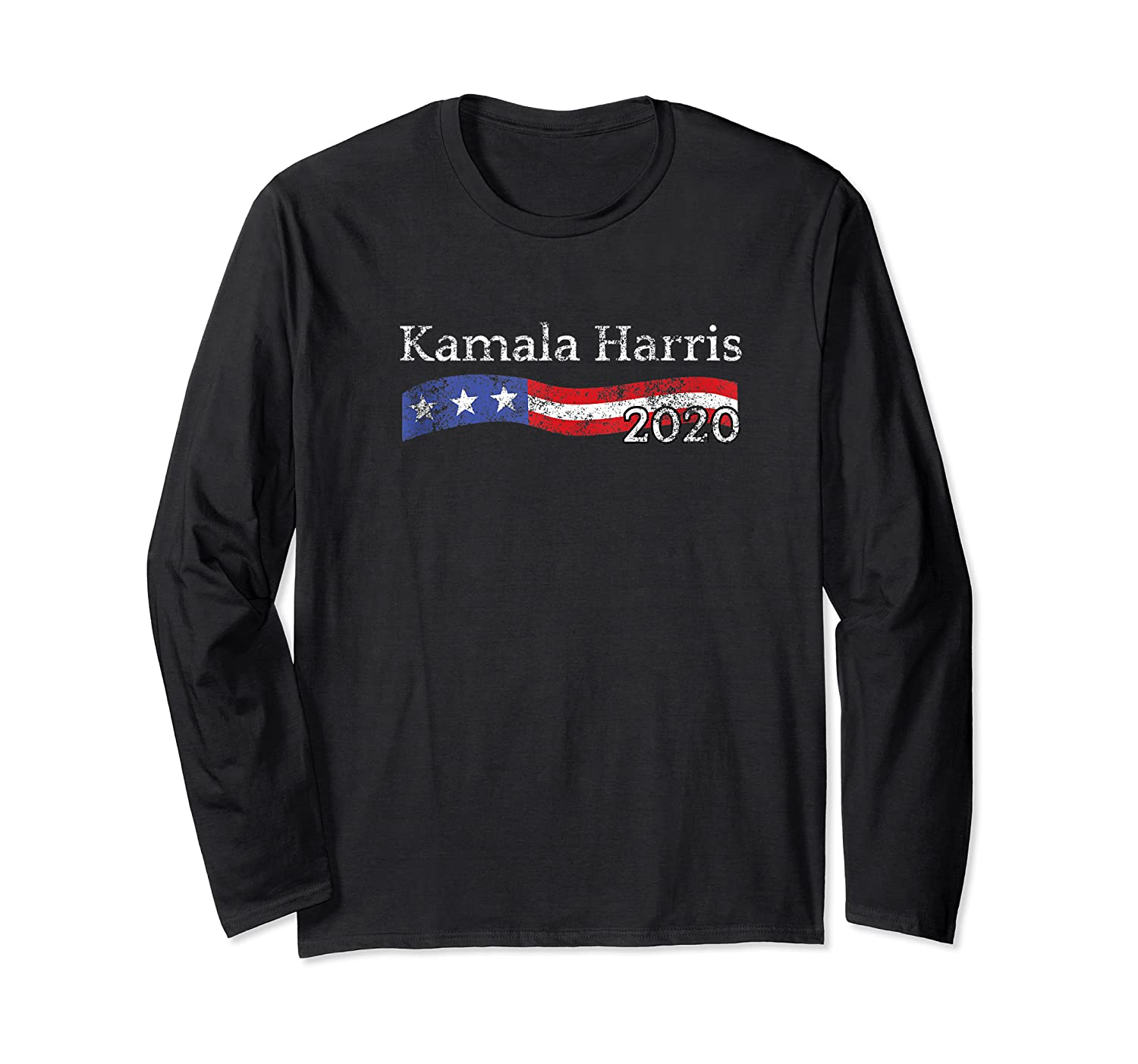 Kamala Harris For President 2020 Distressed For The People Shirts Long Sleeve T-shirt