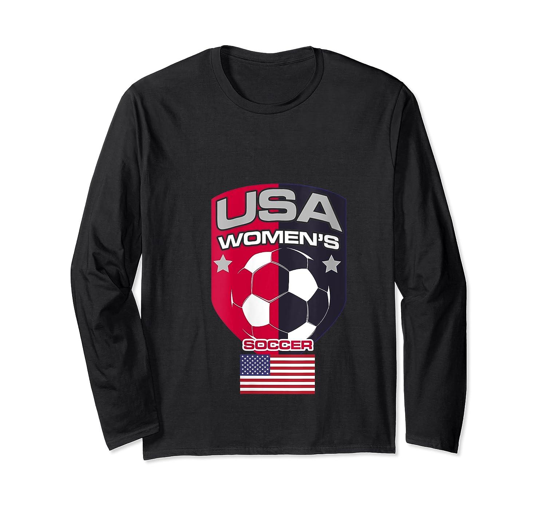 Soccer 2019 Usa Team Championship Cup Shirts Long Sleeve T-shirt