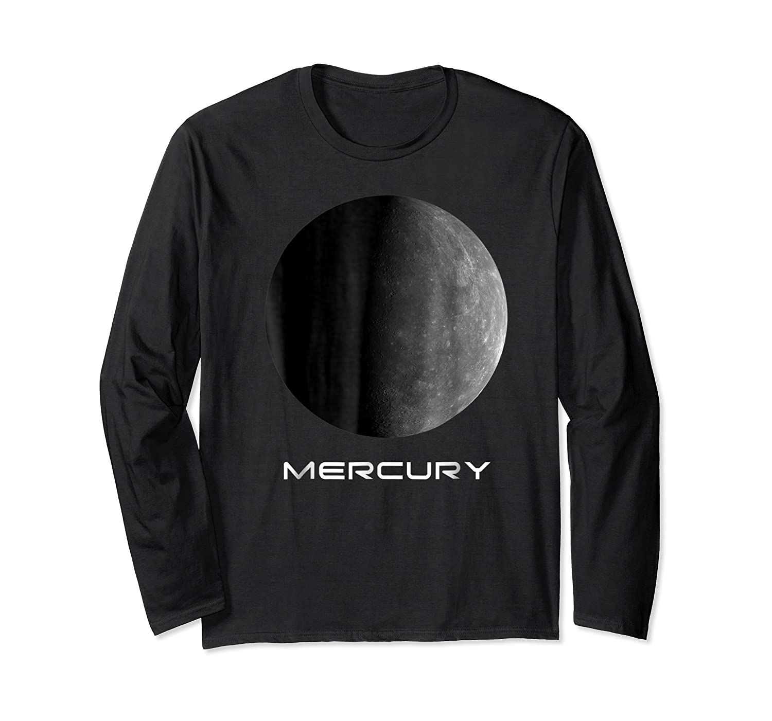 Mercury Perfect Gift For Astronomy Or Space Lovers Shirts Long Sleeve T-shirt