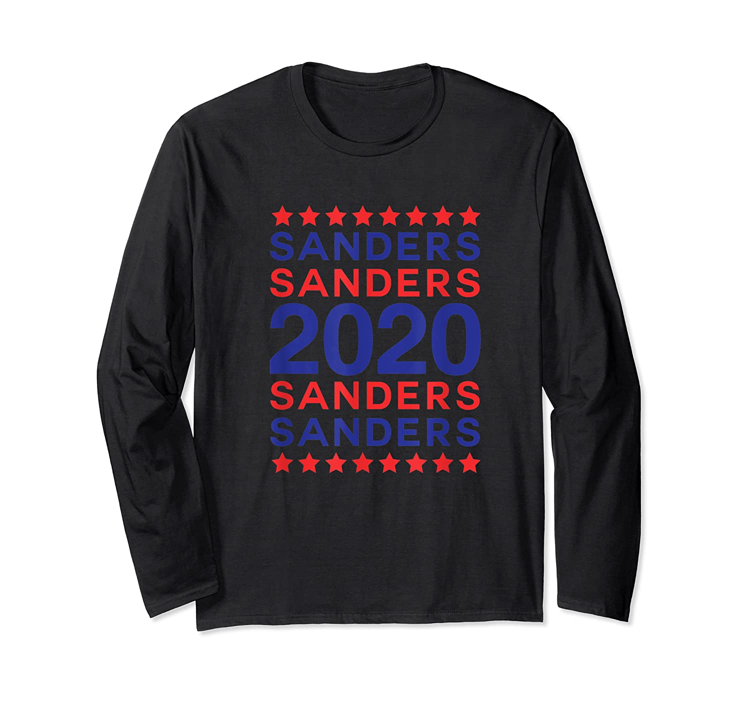 Sanders 2020 Democrat Party Campaign Usa President Election T-shirt Long Sleeve T-shirt