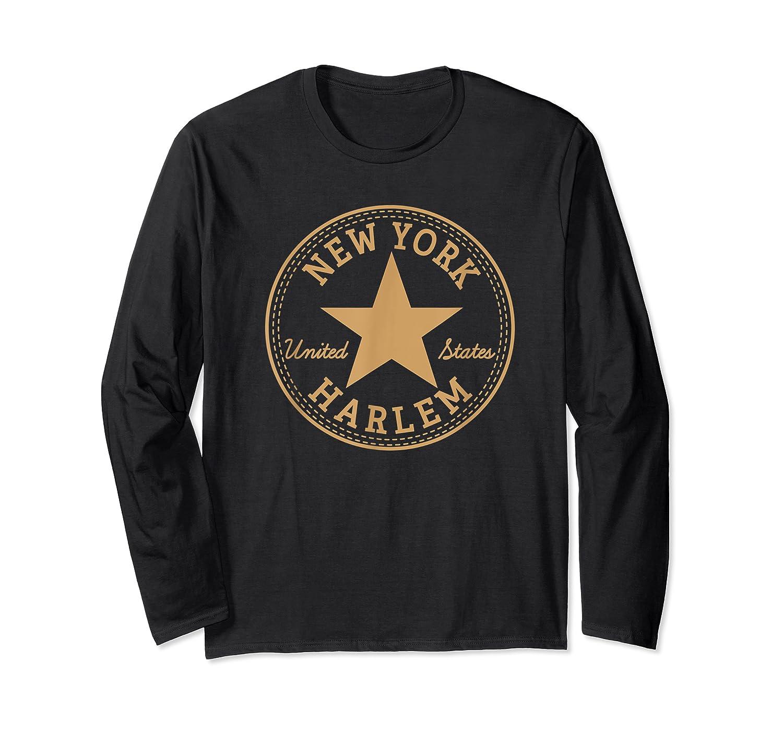 New York City Harlem Nyc Usa United States T Shirt Long Sleeve T-shirt