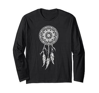 Amazon.com  Nightshirt Dream Ladies Dreamcatcher Long Sleeve T-shirt ... a9b622eb3