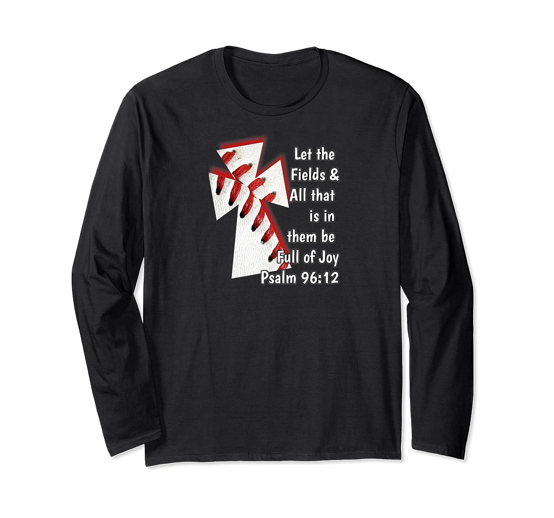 Christian Bible Verse Baseball Shirt Long Sleeve T-shirt