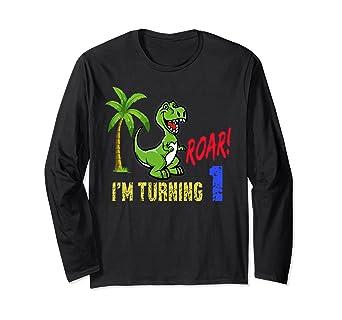 Amazon Rawr Im 3 Dinosaur 1st Birthday Shirt Boys Outfit