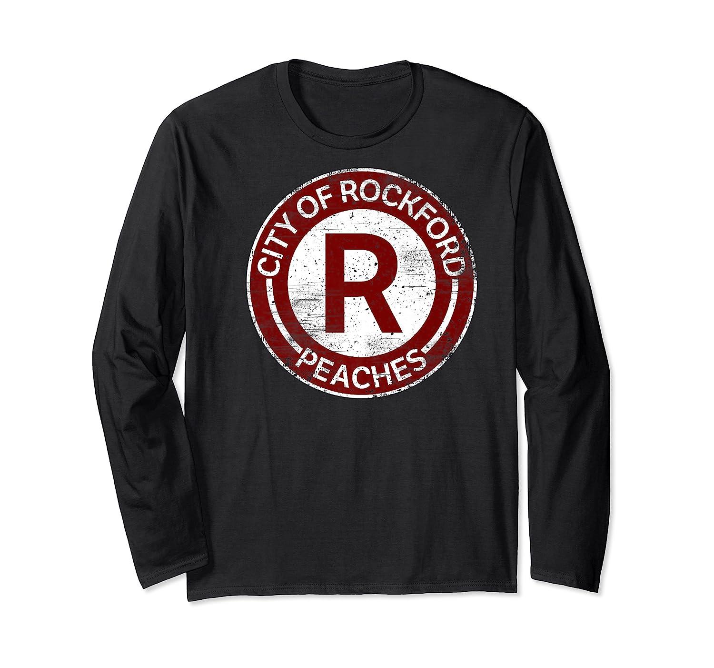 Baseball Tshirt Rockford Peaches Shirt Feminist Graphic Tees Long Sleeve T-shirt