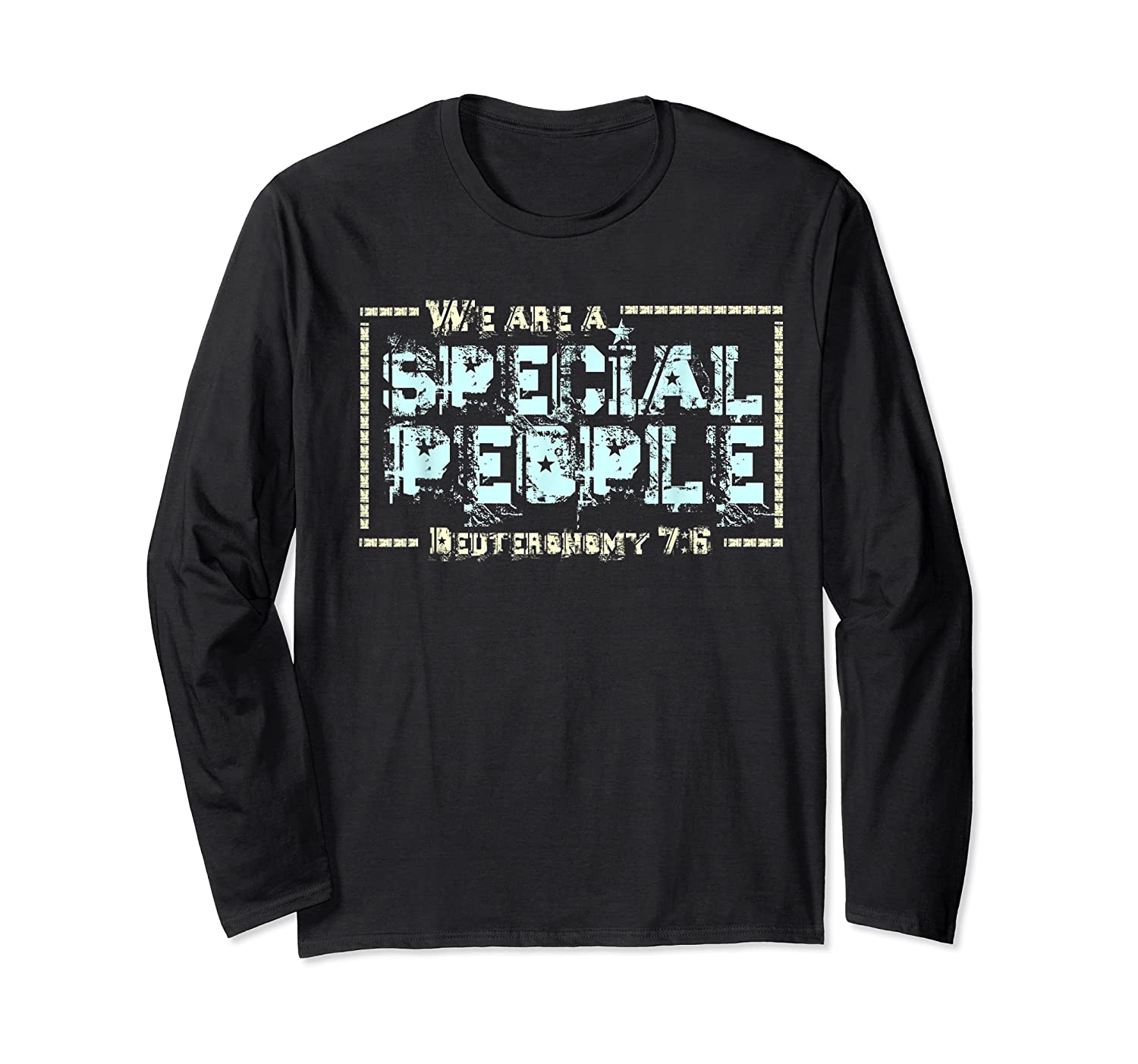 Hebrew Israelite Clothing We Are A Special People Israel Shirts Long Sleeve T-shirt