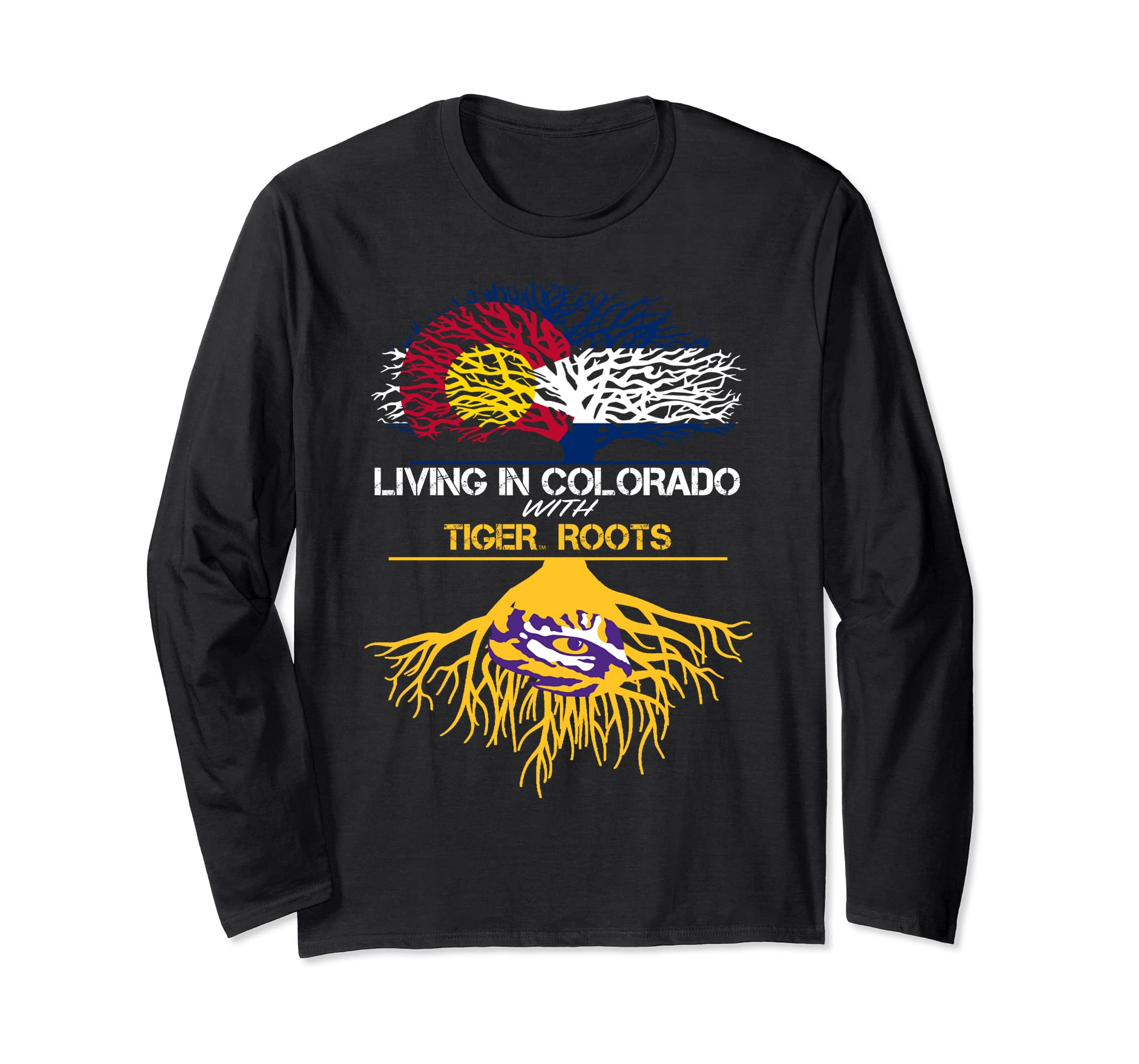 LSU Tigers Living Roots Long Sleeve T-Shirt - Apparel-SFL
