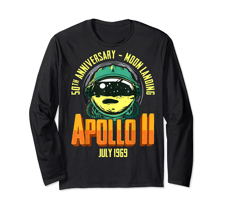 Apollo 11 50th Anniversary Shirts Long Sleeve T-shirt