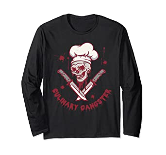 ccd7d9ec9 Image Unavailable. Image not available for. Color: Culinary Gangster Chef  Cooking Master Kitchen Long Sleeve