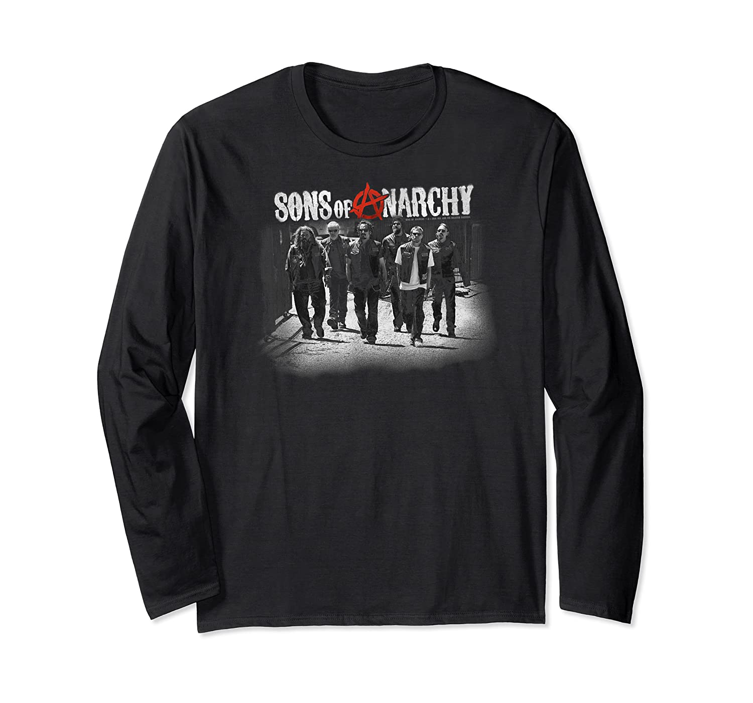 Sons Of Anarchy Rolling Deep T Shirt Long Sleeve T-shirt