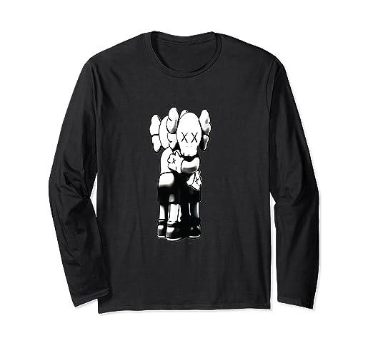 d298ec2927dd7 Amazon.com: You Can Be Kaws Together Hug Premium T-shirt: Clothing
