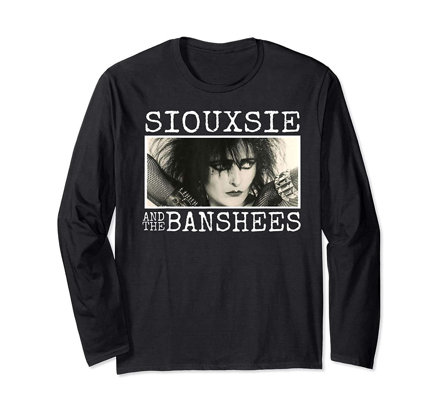 Siouxsie And The Banshee Siouxsie Sioux T Shirt Long Sleeve T-shirt