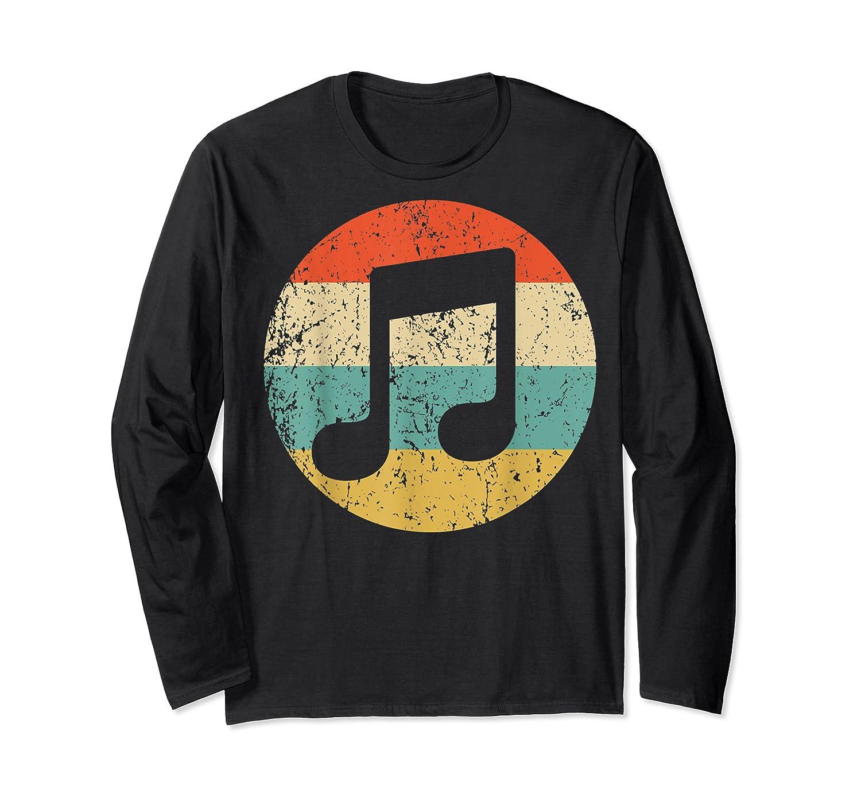 Musician Retro Musical Notes T-shirt Long Sleeve T-shirt
