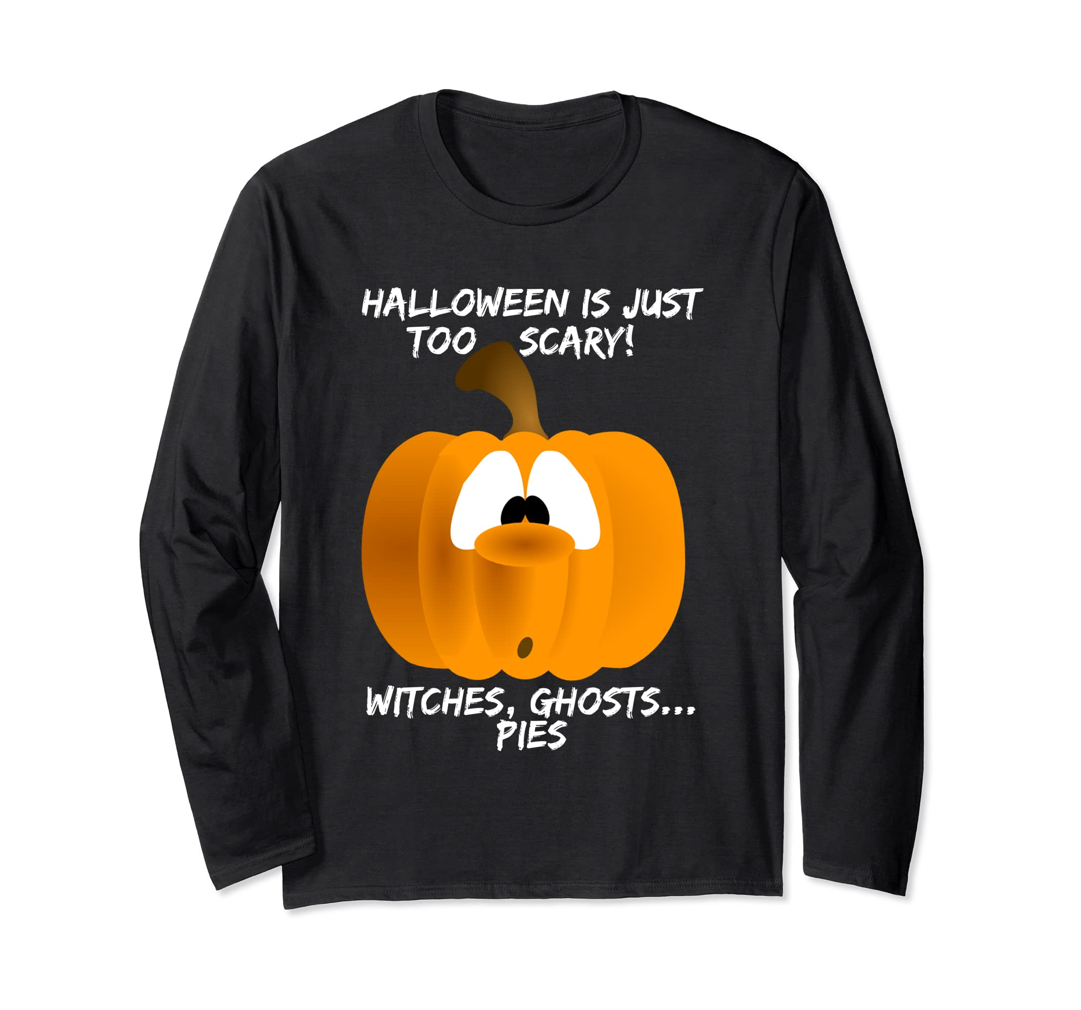 Halloween Pumpkin Scary Humor Sarcastic Wit Shirt Silly-Bawle
