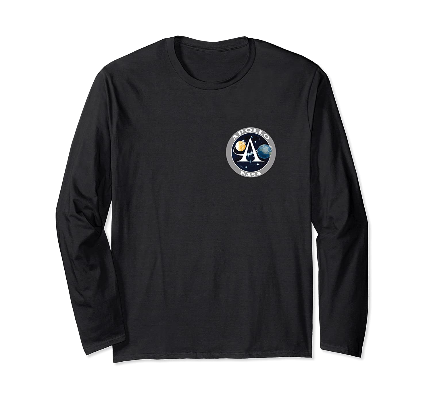Apollo 11 Space Moon Landing Mission Patch Shirts