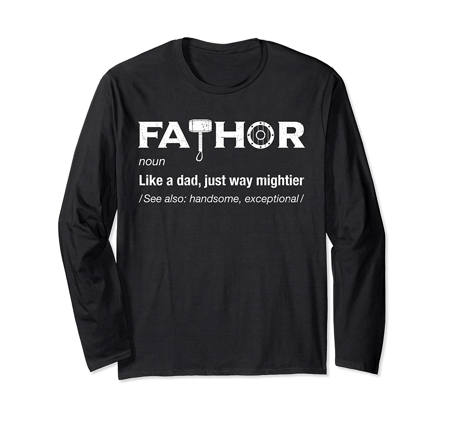 Fathor Gifts For Dad Funny Cool Pun Vintage Graphic T-shirt