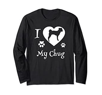 Chug Dog Gifts I Love My Chug Dog Shirt