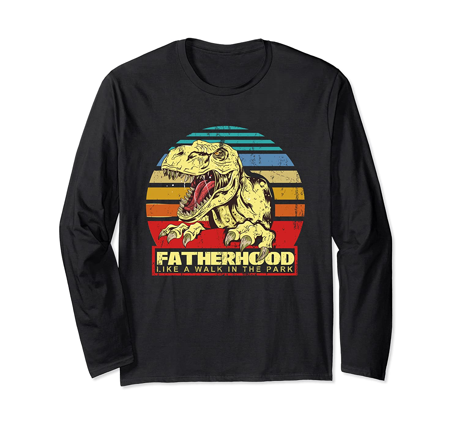 Fatherhood Like A Walk In The Park Father's Day Gif Shirts
