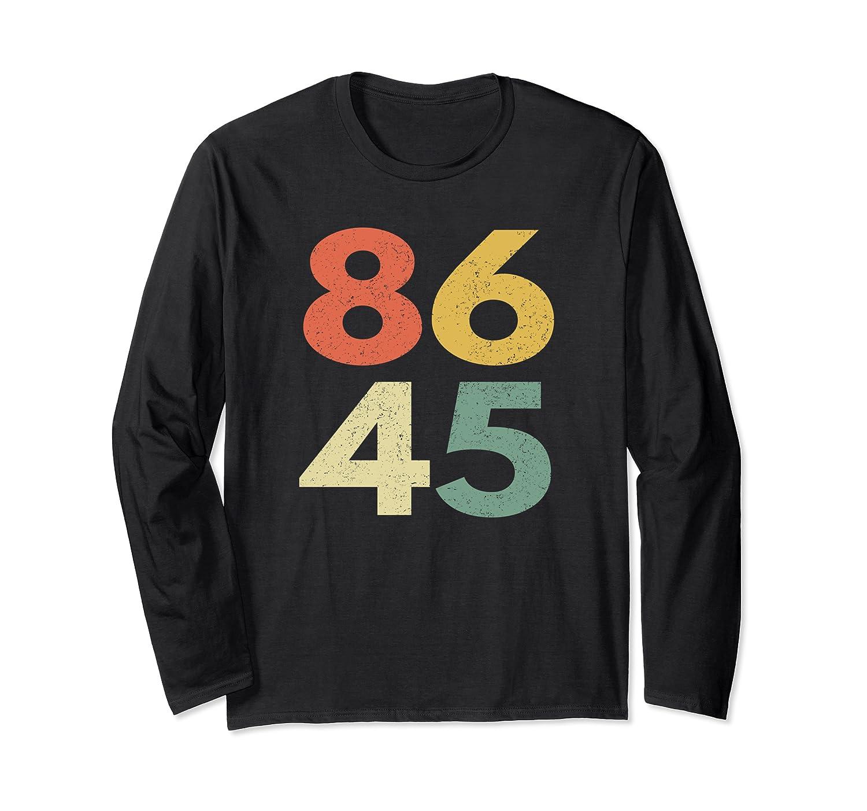 86 45 Tshirt Vintage Retro Anti Trump