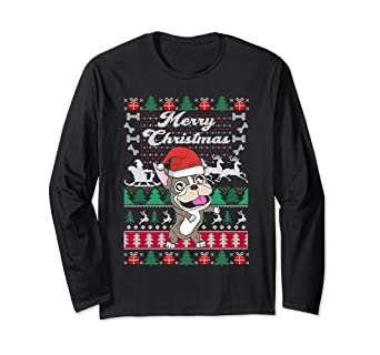merry christmas french bulldog floss dog lovers gift shirt - Merry Christmas French