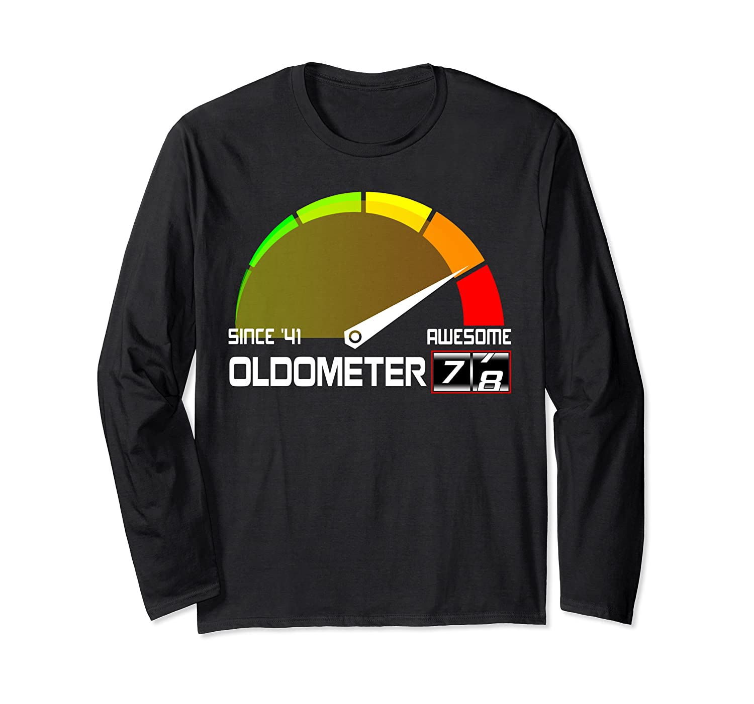 Oldometer 78 Since 1941 78th Birthday Years Old Gift Shirts