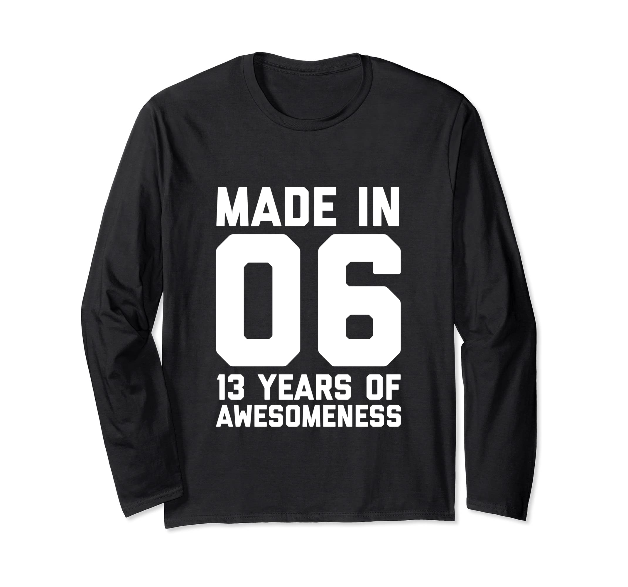 Amazon 13th Birthday Long Sleeve Girls 13 Year Old Daughter Gifts Clothing