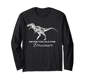 2b4b4a99 Image Unavailable. Image not available for. Color: Adult Dinosaur Shirt ...
