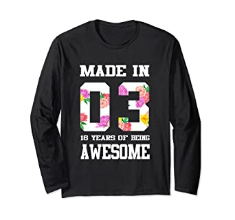 3832dcd35 Image Unavailable. Image not available for. Color: Womens Sweet Sixteen  Birthday Shirt for Teenager Girls