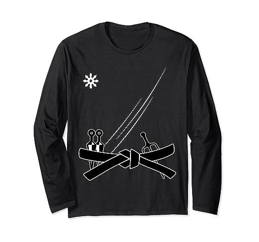 Amazon.com: Ninja Gi Shirt Long Sleeve - Ninja Shirt - Ninja ...