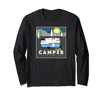 0e7676617d9 Image Unavailable. Image not available for. Color  Happy Camper Life is Good  ...
