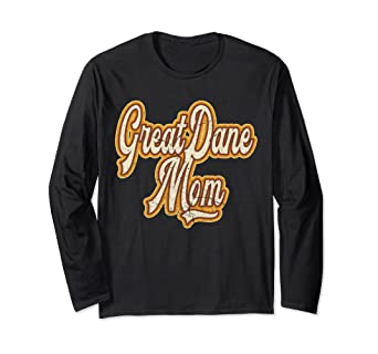 4c58bc37 Image Unavailable. Image not available for. Color: Great Dane Mom Funny Dog  Shirt ...