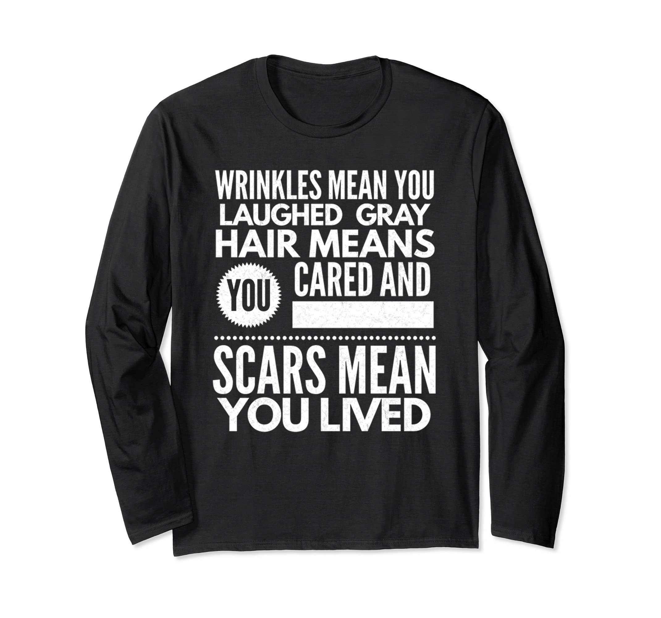Amazon Scars Mean You Lived Inspirational Quote T Shirt Gift
