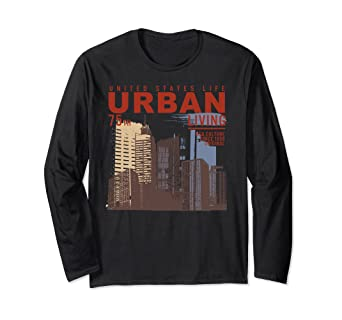 Amazon.com  Retro Urban Streetwear City Photograph Architect Gift ... 6303c6712e12