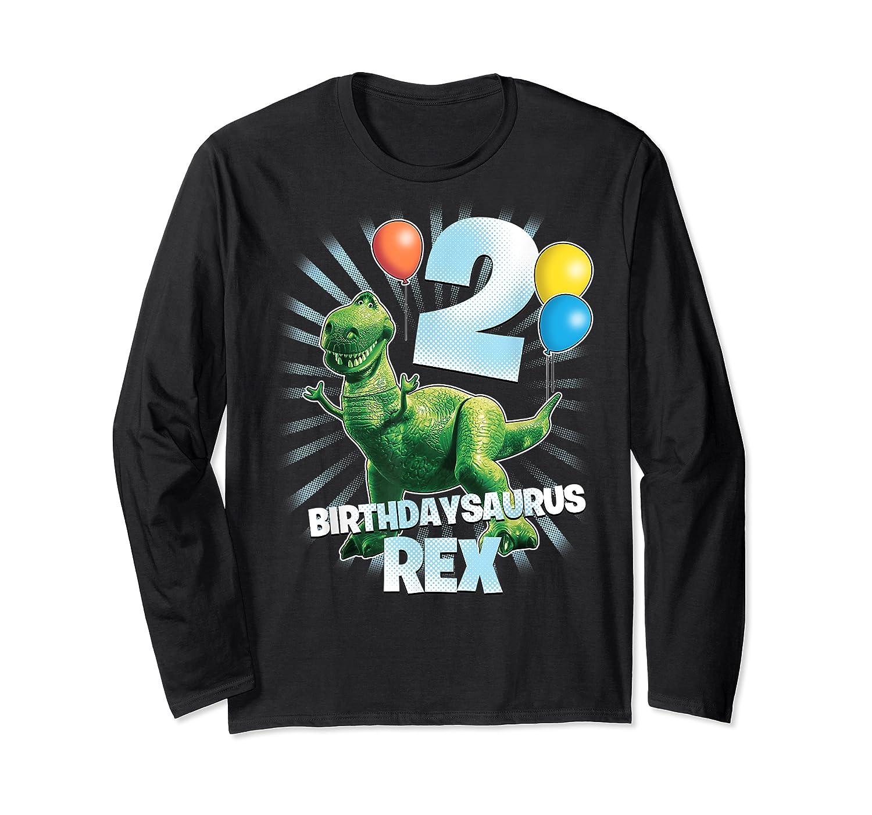 Disney Pixar Toy Story Birthdaysaurus Rex 2nd Birthday T-shirt Long Sleeve T-shirt