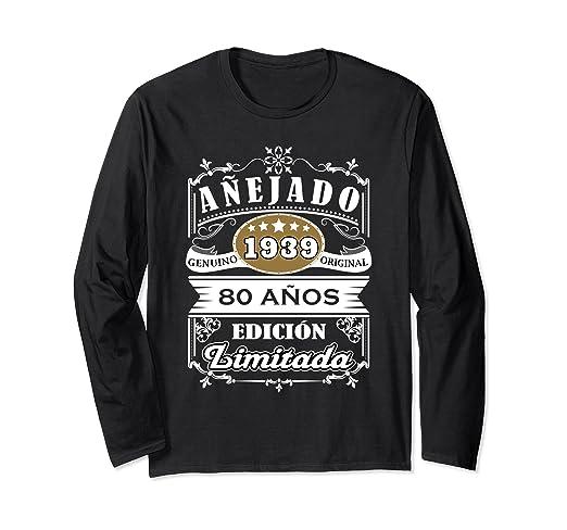 Amazon.com: Camisa Hombre Cumpleanos 80 - 1939 80 Anos ...