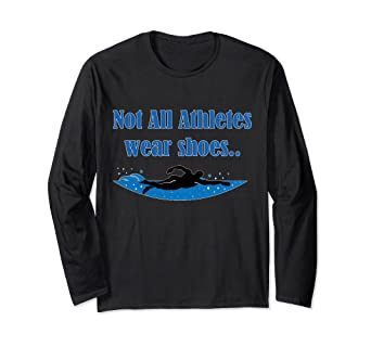 Amazon com: Not All Athletes Wear Shoes Shirt: Clothing