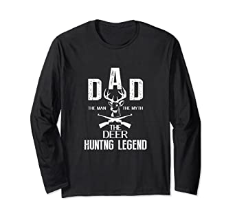 7d1d68a8 Image Unavailable. Image not available for. Color: The Deer Hunting Legend  Dad The Man The Myth T-Shirt
