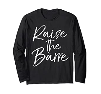 736b9a0e Image Unavailable. Image not available for. Color: Raise the Barre Long  Sleeve Shirt ...