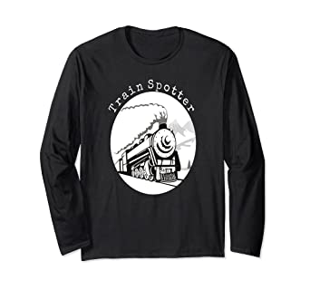 19495907 Amazon.com: Train Spotter shirt men women boys girls: Clothing