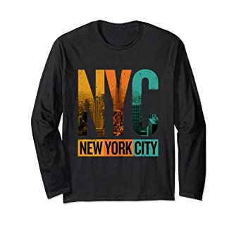 Image Unavailable. Image not available for. Color  Vintage New York City  Skyline T-Shirt NYC 5fffb219576